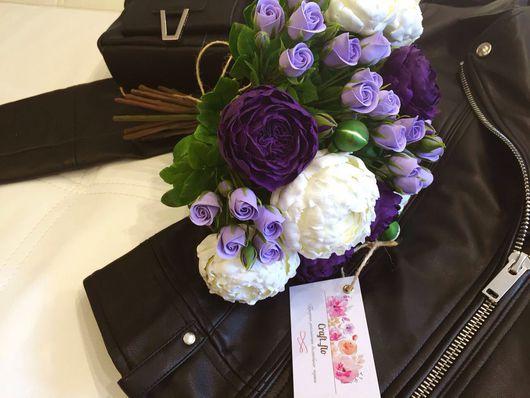 Цветы ручной работы. Ярмарка Мастеров - ручная работа. Купить Пионы и пионовидные розы. Handmade. Интерьерная композиция