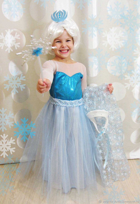 Новогодний костюм эльза холодное сердце своими руками фото 547