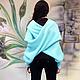 Большие размеры ручной работы. Шарф-свитер безразмерный вязаный, шарф-свитер, во всех цветах!. Одежда шикарных размеров от SEANNA (seanna12). Ярмарка Мастеров.