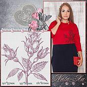 Материалы для творчества handmade. Livemaster - original item The love of roses. 7, the element. Design for machine embroidery.. Handmade.