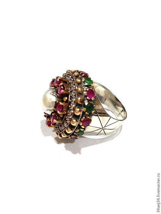 """Кольца ручной работы. Ярмарка Мастеров - ручная работа. Купить Кольцо """" Маркиза """". Handmade. Эксклюзивное кольцо, цирконы"""