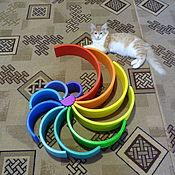 Куклы и игрушки handmade. Livemaster - original item A great rainbow. Handmade.
