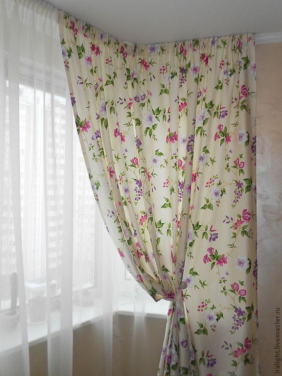 стиль прованс шторы фото