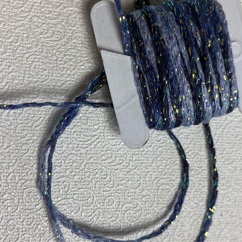 Декоративный шнур с люрексом (Италия), Шнуры, Санкт-Петербург,  Фото №1