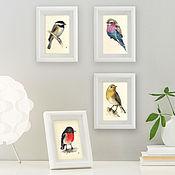 Картины и панно ручной работы. Ярмарка Мастеров - ручная работа Пташки. Handmade.