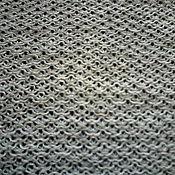 Материалы для творчества handmade. Livemaster - original item 100% Linen fabric knitted on the machine of the Cell. Handmade.