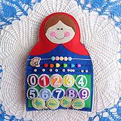 """Куклы и игрушки ручной работы. Ярмарка Мастеров - ручная работа Развивающий игровой набор  - """"Матрешки"""". Handmade."""
