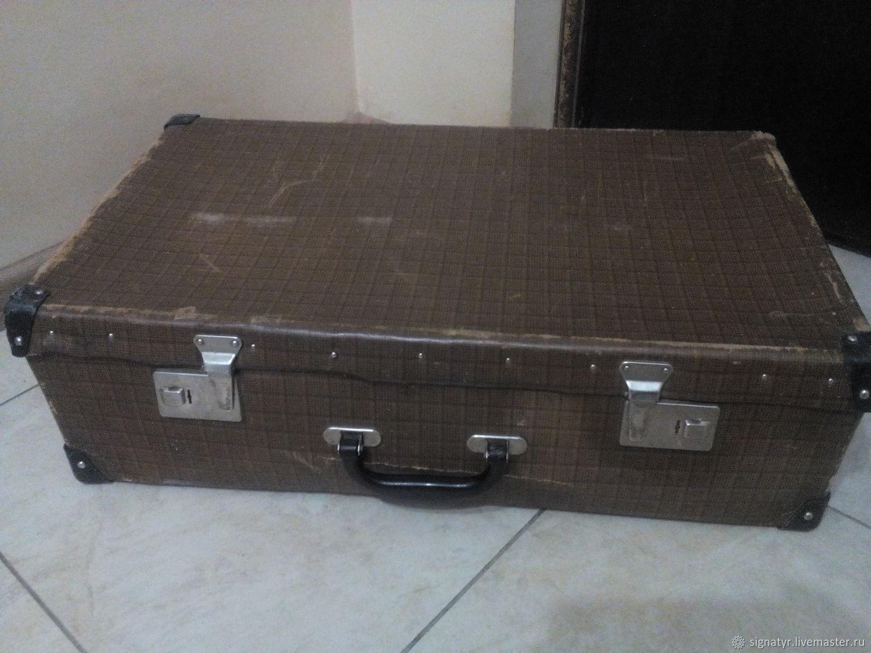 Soviet suitcase, Vintage bags, Orenburg,  Фото №1