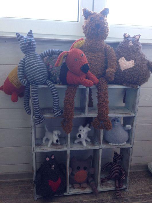 Игрушки животные, ручной работы. Ярмарка Мастеров - ручная работа. Купить Просто вязаные игрушки. Handmade. Изделия ручной работы