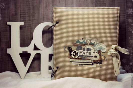 Скрап альбом семейный Мастерская Скрапбукинга Living History