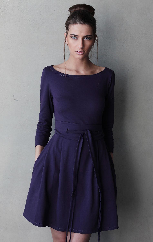 Вырез на платье на поясе