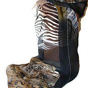 Аксессуары handmade. Livemaster - original item Batik Stole Savannah. Handmade.