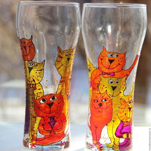 Два бокала для пива КотоВасия