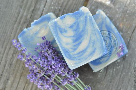 Мыло ручной работы. Ярмарка Мастеров - ручная работа. Купить Голубой Сахар,  Мужское ароматное нежное мыло. Handmade. Голубой