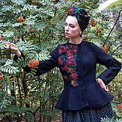 """Одежда ручной работы. Ярмарка Мастеров - ручная работа Жакет""""Прасковья"""". Handmade."""