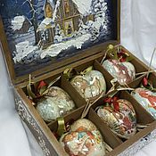 """Подарки к праздникам ручной работы. Ярмарка Мастеров - ручная работа Набор:"""" Винтажный нактюрн"""",6сердечек 10см. Handmade."""