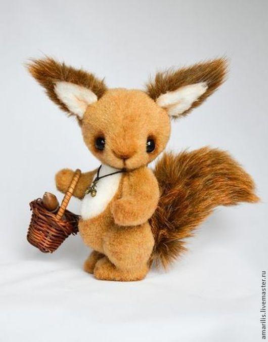 Мишки Тедди ручной работы. Ярмарка Мастеров - ручная работа. Купить Белка Клэр. Handmade. Рыжий, авторская игрушка, плюш
