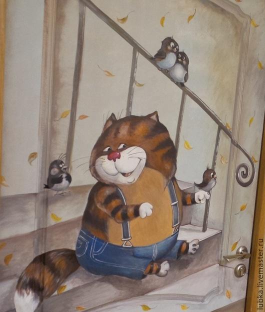 Кот таити Котяра мартовский Кот из мультфильма