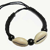 Украшения handmade. Livemaster - original item Bracelets with cowrie (optional) sea. Handmade.
