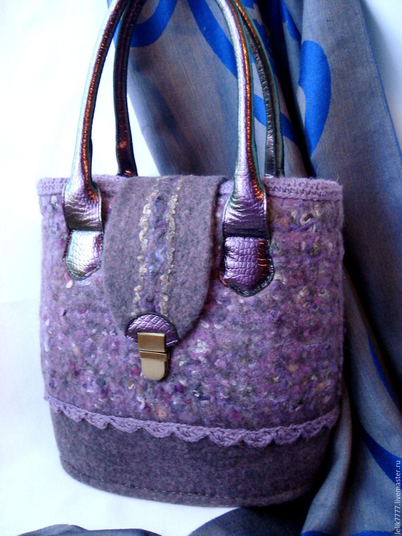 Женская сумка с декором