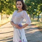 """Одежда ручной работы. Ярмарка Мастеров - ручная работа Платье ручной работы """"Blanc..."""". Handmade."""