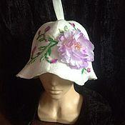 """Для дома и интерьера ручной работы. Ярмарка Мастеров - ручная работа Банная шапка """"Весна"""". Handmade."""