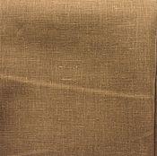 Материалы для творчества ручной работы. Ярмарка Мастеров - ручная работа Лён 100%. Ореховый цвет. Handmade.
