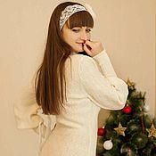 Одежда handmade. Livemaster - original item Bridesmaid dress knitted. Handmade.