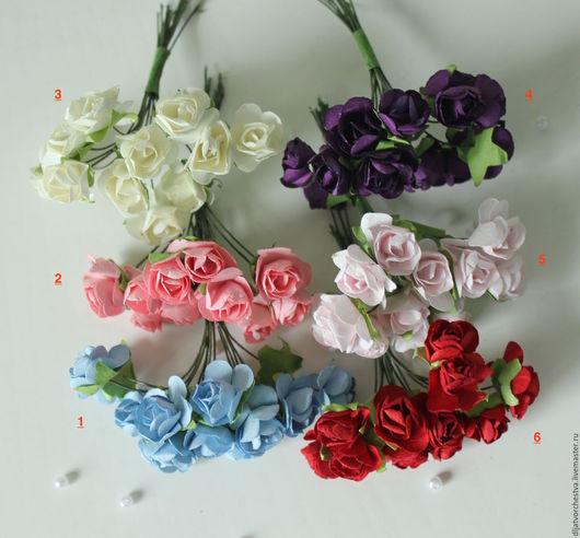 Материалы для флористики ручной работы. Ярмарка Мастеров - ручная работа. Купить Букет роз - искусственные цветы для флористики. Handmade. Роза
