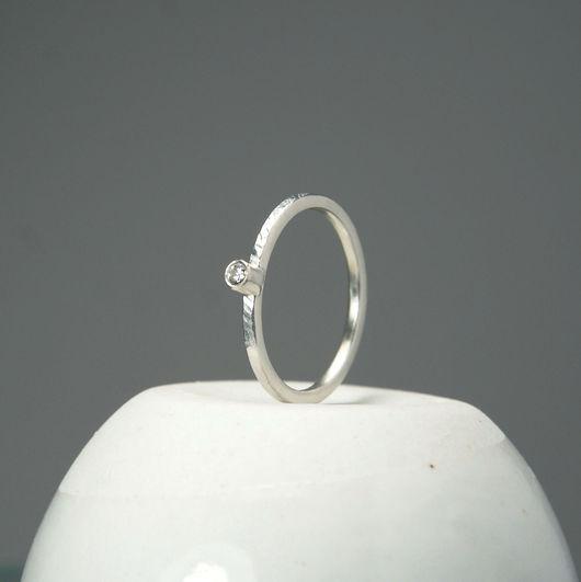 """Кольца ручной работы. Ярмарка Мастеров - ручная работа. Купить Кольцо """"Лёгкость"""" - серебро, ручная работа. Handmade. Серебряный"""