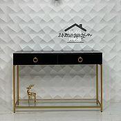 Для дома и интерьера handmade. Livemaster - original item Lady GOLD console.. Handmade.