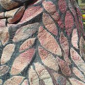 """Аксессуары ручной работы. Ярмарка Мастеров - ручная работа Палантин """"Розовый шиповник"""" валяный. Handmade."""