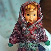 Куклы и игрушки handmade. Livemaster - original item Cotton Batting Christmas Ornament. Handmade.
