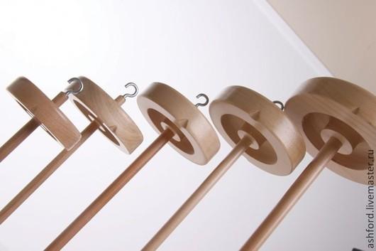 Другие виды рукоделия ручной работы. Ярмарка Мастеров - ручная работа. Купить Веретено, пять размеров. Handmade. Золотой