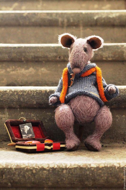 Мишки Тедди ручной работы. Ярмарка Мастеров - ручная работа. Купить Платон Печенькин. Handmade. Крыса игрушка, подарок юноше
