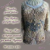 Материалы для творчества handmade. Livemaster - original item Irish lace. MK on knitting elements. Handmade.