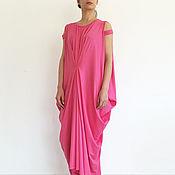 Одежда handmade. Livemaster - original item SUNDAY Dress with drape Maxi. Handmade.