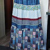 """Одежда ручной работы. Ярмарка Мастеров - ручная работа Летняя юбка """"Бабушкин сундук"""". Handmade."""