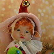 """Куклы и игрушки ручной работы. Ярмарка Мастеров - ручная работа Эльфик  """"Нового Года"""". Handmade."""