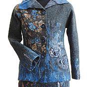 """Одежда ручной работы. Ярмарка Мастеров - ручная работа Костюм """"Синяя ночь"""", из мериносовой шерсти.. Handmade."""