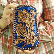handmade. Livemaster - original item eyeglass case: Leather case handmade. Handmade.