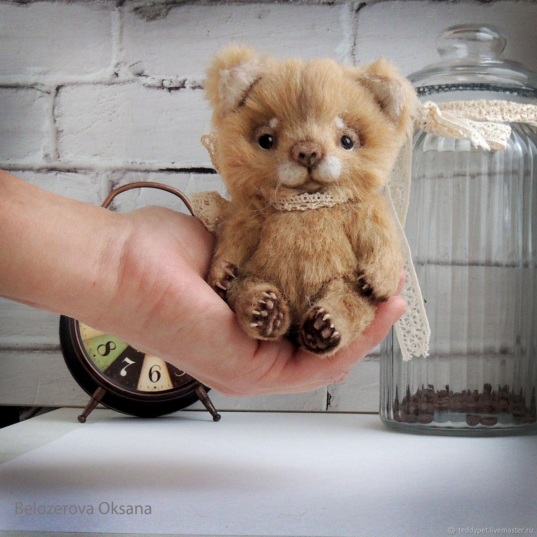 Мягкая игрушка. Плюшевый котенок. Тедди котенок Плюш, Мягкие игрушки, Белгород,  Фото №1