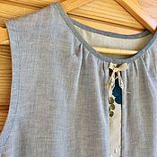 Одежда handmade. Livemaster - original item Blouse made of Japanese gauze
