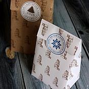 Сувениры и подарки ручной работы. Ярмарка Мастеров - ручная работа Новогодние упаковочные пакетики. Handmade.