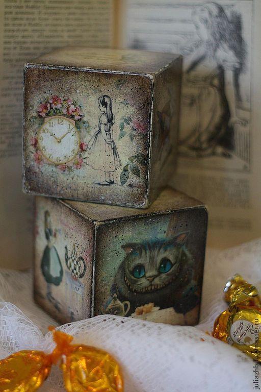 Открытка кубик с фото, девушке открытку