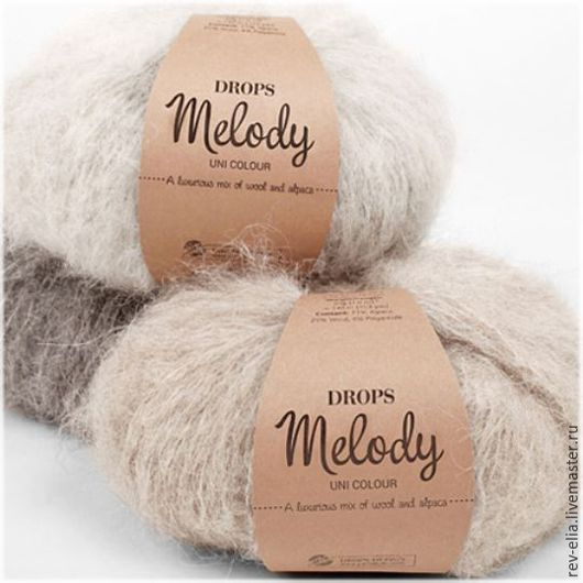 """Вязание ручной работы. Ярмарка Мастеров - ручная работа. Купить Пряжа """"Melody"""", Drops. Handmade. Комбинированный, пряжа для вязания"""
