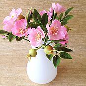 Цветы и флористика handmade. Livemaster - original item Bouquet of Wild rose. Handmade.