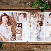 Дизайн и реклама handmade. Livemaster - original item Wedding photobook. Handmade.