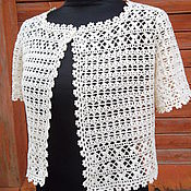 Одежда handmade. Livemaster - original item Bolero crochet Ariadna. Handmade.