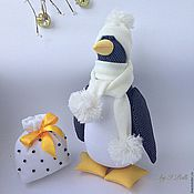 Куклы и игрушки ручной работы. Ярмарка Мастеров - ручная работа Мистер Гвин - пингвин великолепный). Handmade.